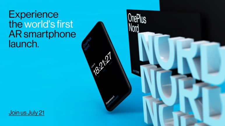 OnePlus Nord Launch Event