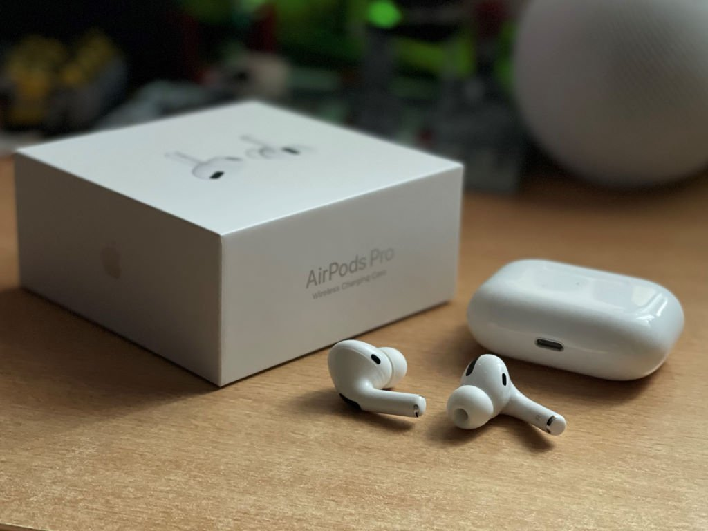 apple-air-pods-pro Apple, Sennheiser, Teufel & Co. - 9 True Wireless Ohrhörer im großen Vergleichstest Apple Audio Bang & Olufsen Gadgets Gefeatured Headsets Jabra Kopfhörer LG Electronics OnePlus Panasonic Samsung Sennheiser Testberichte Teufel